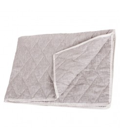 Льняное летнее одеяло, 140*205 полуторное