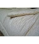 Стеганое одеяло из овечьей шерсти, особо теплое, чехол из сатина, пастельное, размер 170*205
