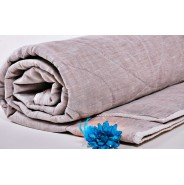 Льняное летнее одеяло, 110*140 детское